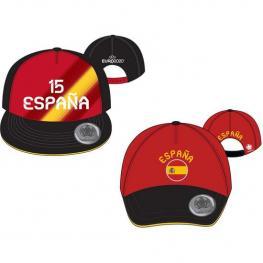 Gorra Eurocup España Light - Rojo - 52Cm