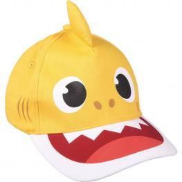 Gorra Premium 3D Baby Shark - Amarillo - 51Cm