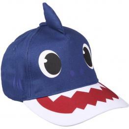 Gorra Premium 3D Baby Shark - Azul - 51Cm