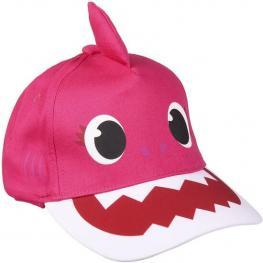 Gorra Premium 3D Baby Shark - Rosa - 51Cm