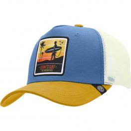 Gorra Trucker Born To Surf Azul The Indian Face Para Hombre y Mujer