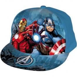 Gorra Visera Redonda Avengers