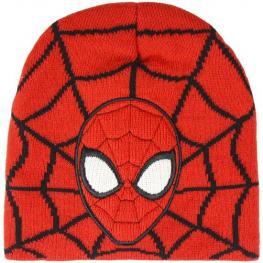 Gorro Con Aplicaciones Spiderman - Rojo