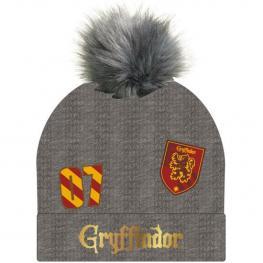 Gorro Jacquard Harry Potter Gryffindor Gray - Talla Unica