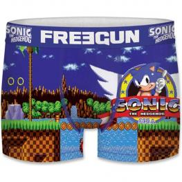 Boxer Unitario Infantil Sonic The Hedgehog Freegun