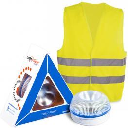Help Flash Smart - Luz de Emergencia Autónoma + Chaleco
