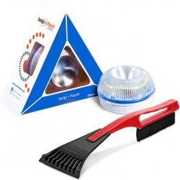 Help Flash Smart - Luz de Emergencia Autónoma Con Rascador