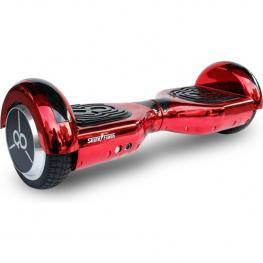 Hoverboard Skateflash K6 Chrome Rojo Bluetooth + Bolsa de Transporte