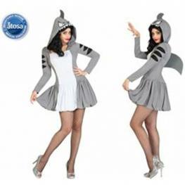 Disfraz Tiburon Adulto T2