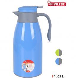 Jarra Termo Plástico 1,65L Privilege - Surtidos