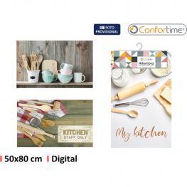 Alfombra 50X80Cm Kitchen 3S Digit. Confortime
