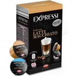 Latte Macchiato Expressi, 8+8 Cápsulas K-Fee