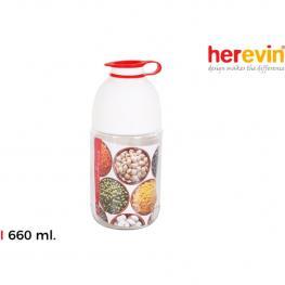 Tarro Vidrio Frutos Secos/legumb. 660Cc