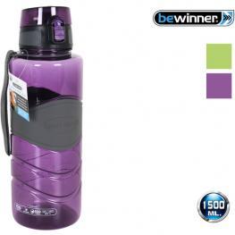 Botella Sport Agua 1500Ml Bewinner -  Colores Surtidos