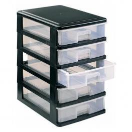 Lote de 5 Cajas En Color Negro