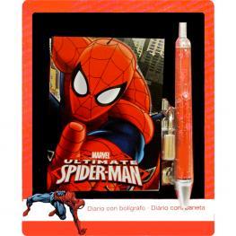 Mini Diario Spiderman