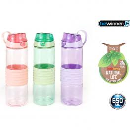 Botella Sport Agua Softouch 600Ml Bewinner - Colores Surtidos
