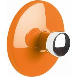 Gancho Adhesivo 4,0, Abs Cromado, Naranja