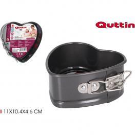 Molde Horno Cierre 11X10.4X4.6Cm Heart Quttin