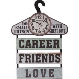 Reloj Con Percha Friends