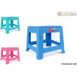 Taburete Plast. 31X30X30Cm Confortime