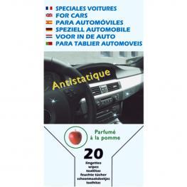Toallitas Para Automoviles (Interior) X20