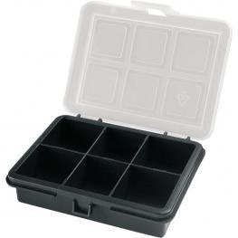 Organizador de Plástico Con 6 Compartimentos L 120 X P 100 X H28 Mm