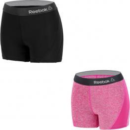 Pack 2 Shorts Deportivos Para Mujer Reebok - Cintura Alta