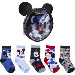 Pack Calcetines 5 Piezas Mickey Multicolor