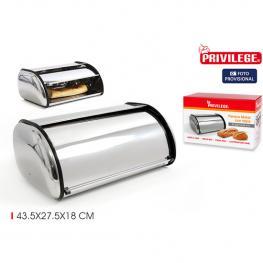 Panera Metal Con Tapa 43.5X27.5X18Cm