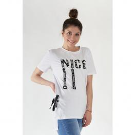 Camiseta Nice - Blanco
