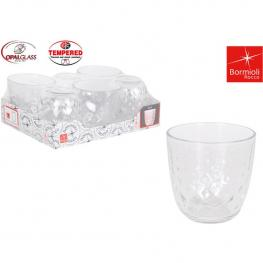 Set 6 Vasos Agua 29.5Cl Glit