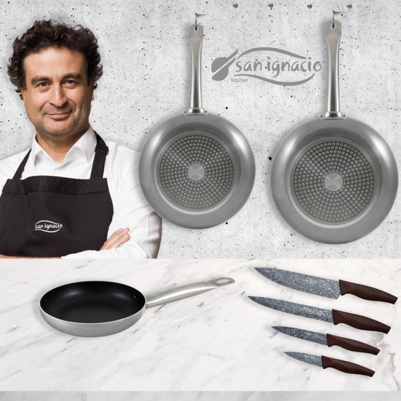 Sartén Antiadherente Quid Pro Chef Aluminio 3 Mm Yub Store