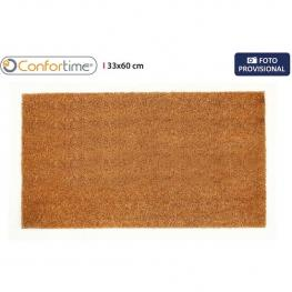 Felpudo Coco Goma Liso 33X60Cm Confortime