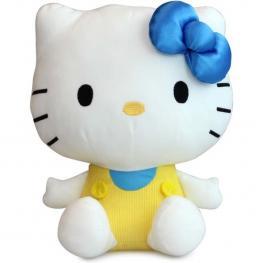 Peluche Hello Kitty White 30 Cm Morado