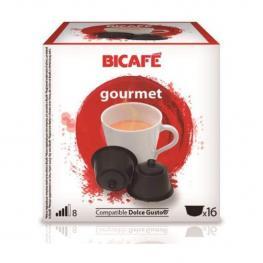 Gourmet 16 Cápsulas Bicafé