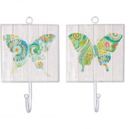Percha Individual Mariposa - Surtidos