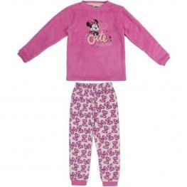Pijama Infantil Minnie Mouse Rosa