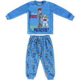 Pijama Largo Coral Fleece Toy Story Pearl - Talla 2 Años