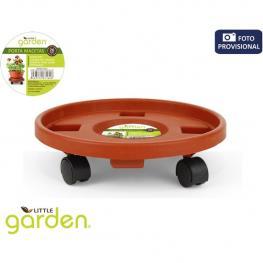 Soporte Con Ruedas Para Macetas Little Garden