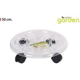 Porta Macetas Plástico 30Cm Little Garden