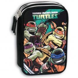 Plumier Triple Tortugas Ninja 45 Piezas