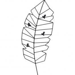 Figura Decorativa Pluma