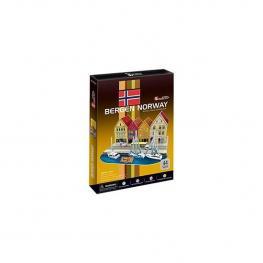 Puzzle 3D Bergen Wharf
