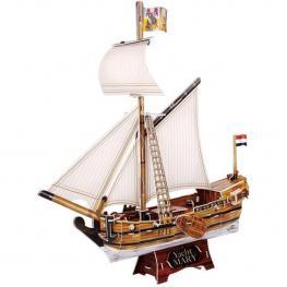 Puzzle 3D Yacht Mary de 83 Piezas