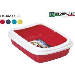 Arenero Plástico Junior 38X28Cm - Colores Surtidos