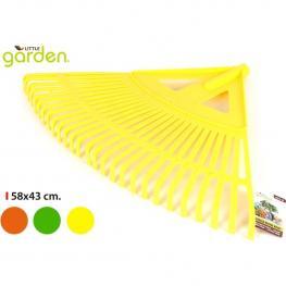 Rastrillo Recoge Hojas 58X43Cm Plástico Little Garden - Colores Surtidos