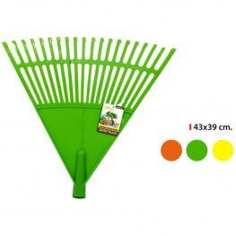 Rastrillo Recoge Hojas 43X39Cm Plástico Little Garden - Colores Surtidos