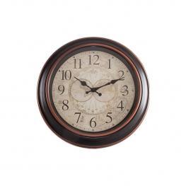 Reloj Con Borde Negro