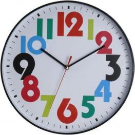 Reloj de Pared Colours Negro